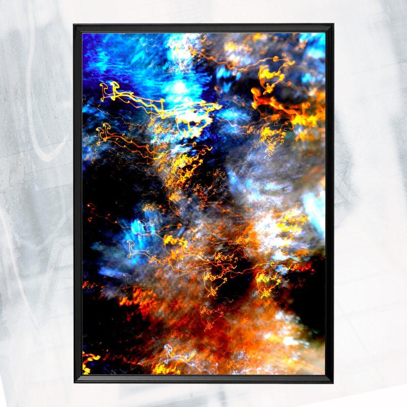 JA01-EX-CK Trace Illusion III_framed