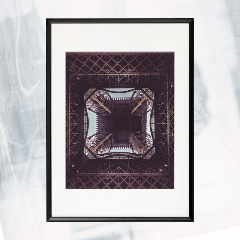 DJ01-EX-U-The Tower_framed