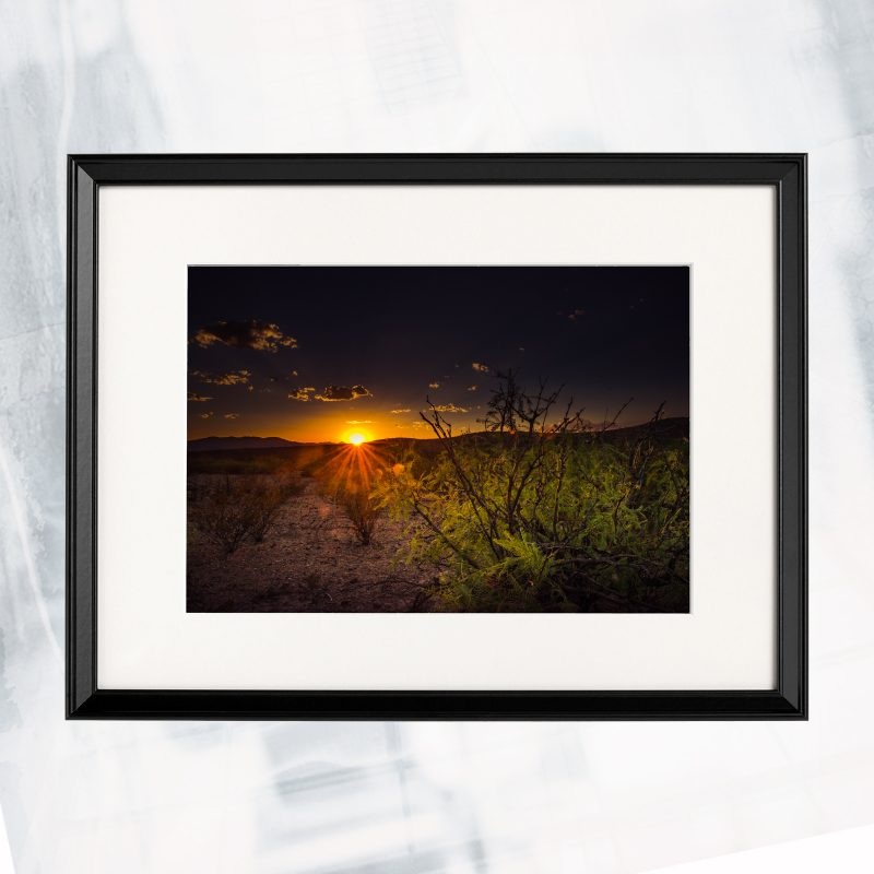 DJ01-EX-W-West texas light_framed