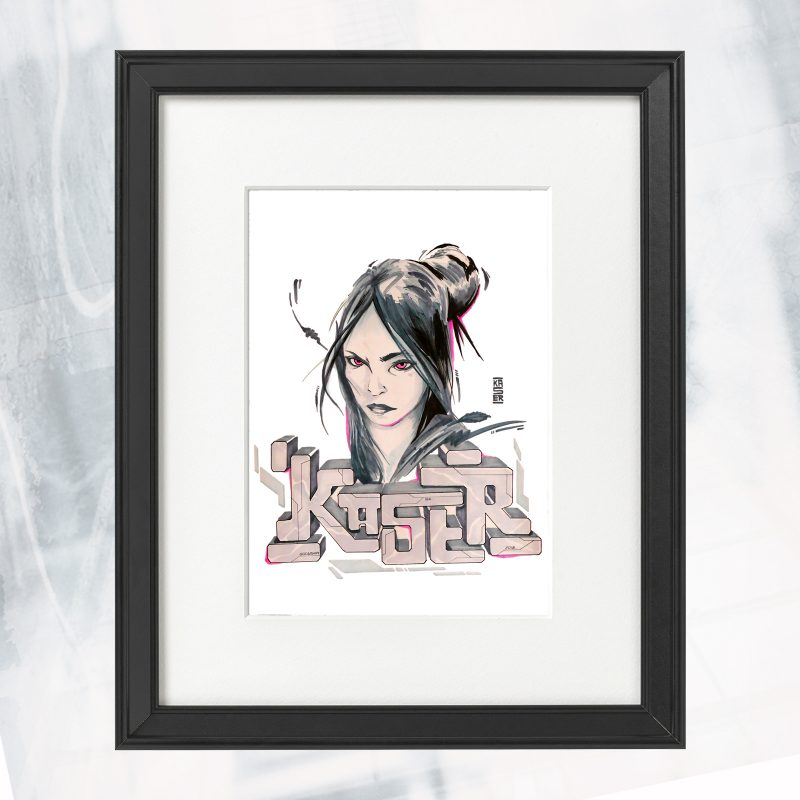 DS01-EX-E-Cold Beauty style_framed
