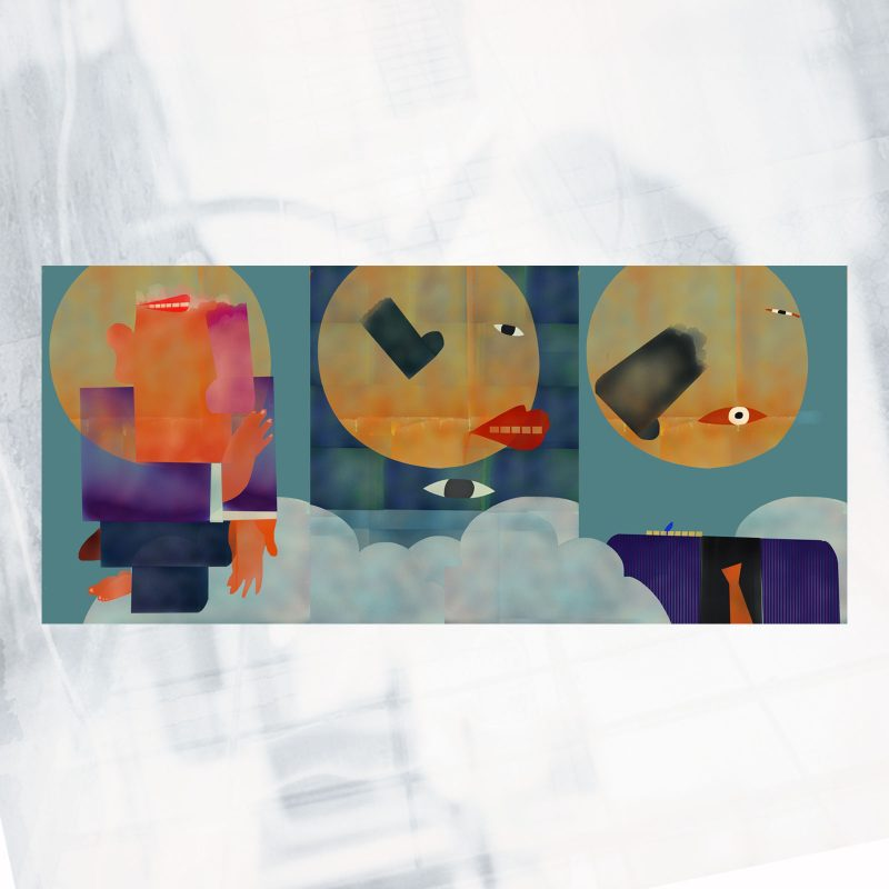 RB01- EX- A Angel Triptych