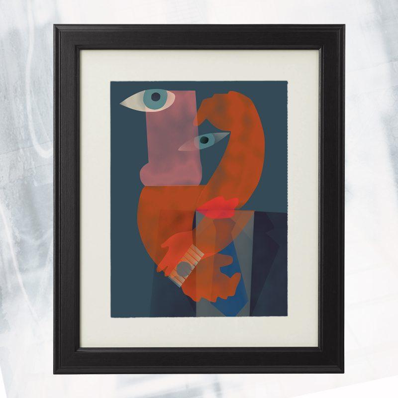 RB01- EX- C Desire_framed