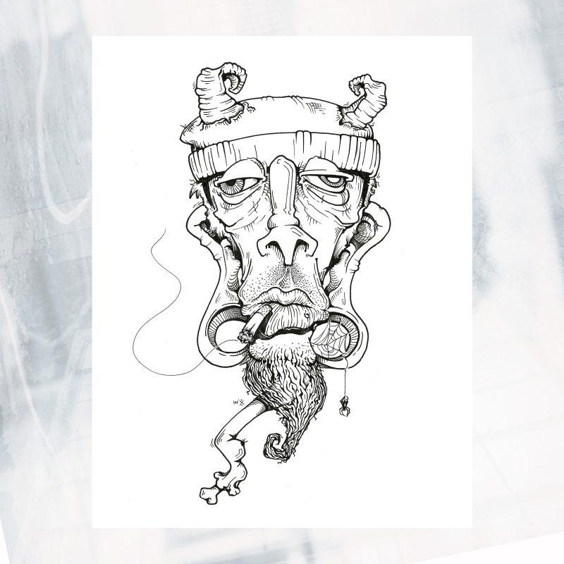 JL02-EX-F- Goat Head