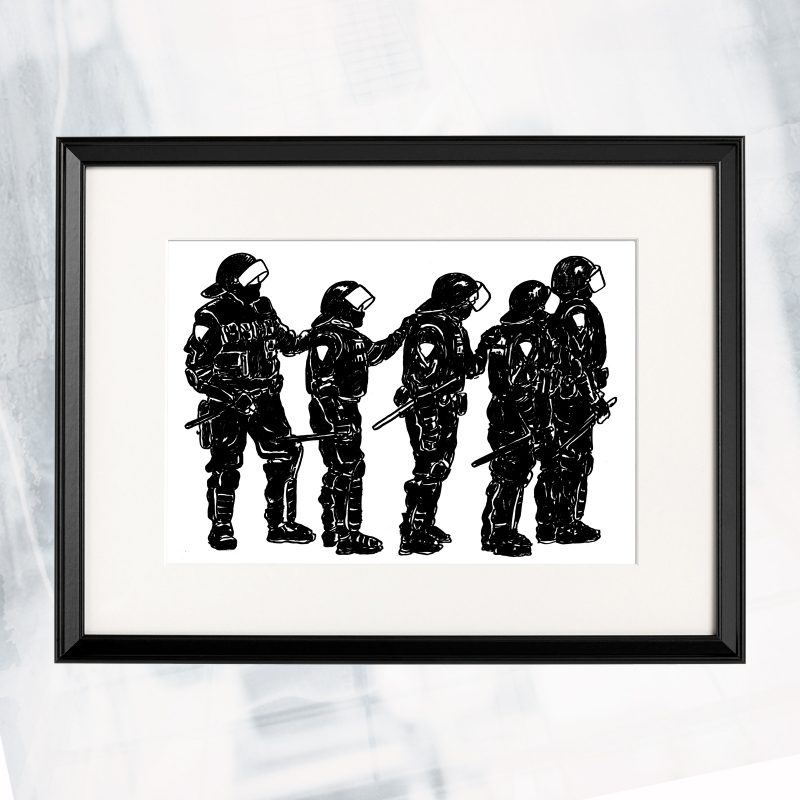 MM01-EX-R- Riot Ready_framed