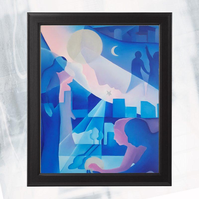 DN01-EX-C-LA Reve_framed