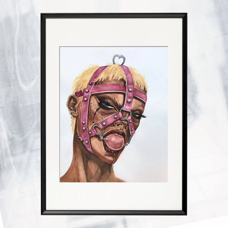 LW01-EX-B- Harness framed